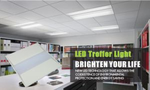 Ce RoHS Dlc ETL 50W LED 2X4 Troffer Light, Retrofit Kit, 6500lm, 180W HPS pictures & photos