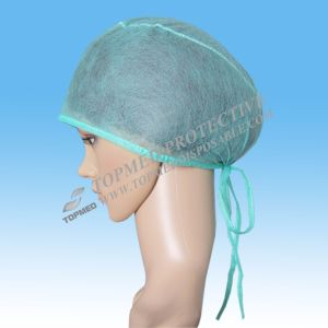 Nonwoven Surgical Cap/Fabric Surgical Caps/General Medical Suppliers pictures & photos