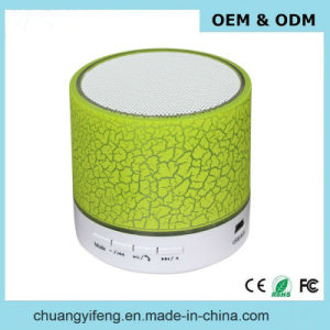 Colorful LED Light Mini Bluetooth Speaker with FM Radio, Aux Line Ine, USB Slot and Custom Logo Service pictures & photos
