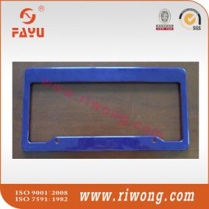 Blank Blue Plastic License Plate Frame pictures & photos