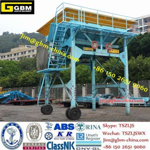 Eco-Mobile Manufacture Dust Proof Hopper Dust Collecting Hopper for Bulk Cargo Material pictures & photos