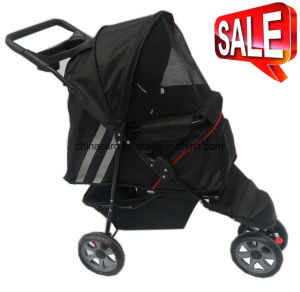 3 Wheels Dog Outdoor Carrier Pet Stroller Bb-PS05 pictures & photos