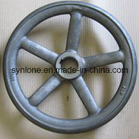 Customized Sand Casting Grey Iron Hand Wheel pictures & photos