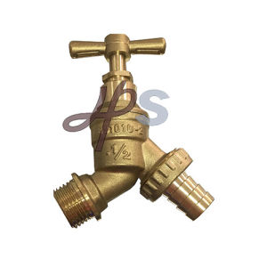 BS1010 Brass Hose Bibcock with Brass Handle pictures & photos