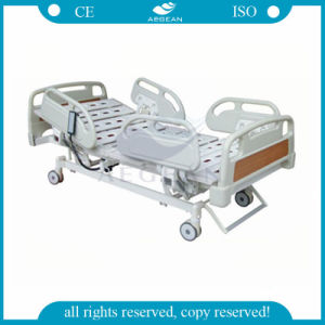 ABS Handrails Five Functions Double Electric Bed pictures & photos