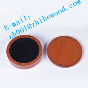 Circular of Wooden Jewelry Box