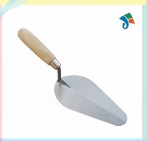 Wholesale Wooden Handle Carbon Steel Bricklaying Trowel pictures & photos