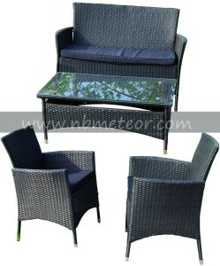 Garden Wicker Rattan Furniture Kd Structure Chair for Outdoor (MTC-055) pictures & photos