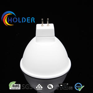 MR16 Full Set Lamp Shade Metallized Plastic Thermal Conductive LED Component pictures & photos