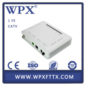 FTTH Ethernet CATV FTTH Gepon Modem ONU pictures & photos