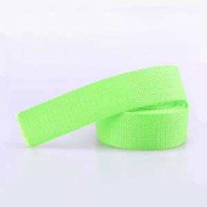 Tubular 1.75 Inch PP/Polypropylene Webbing Straps for Lifting pictures & photos
