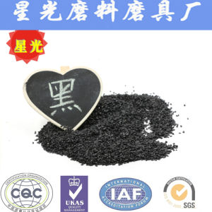 Black Fused Alumina Corundum for Sale pictures & photos