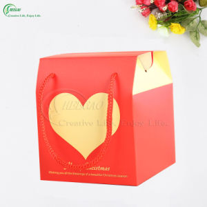 Christmas Packaging Gift Box Apple Box with Handle (KG-PX082) pictures & photos