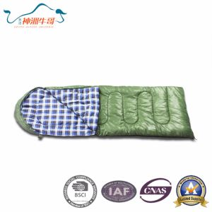 Hot Selling Warm Envelope Sleeping Bag for Camping pictures & photos
