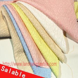 Polyester Fabric Dyed Fabric Chemical Fabric Jacquard Fabric for Woman Dress Coat Garment Home Textile pictures & photos