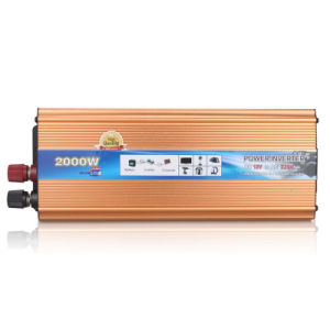 Car Power Inverter 2000watt Pure Sine Wave DC 48V to AC 220V Converter with USB pictures & photos