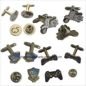 Manufacturer Custom Made Club Logo Metal Cufflinks