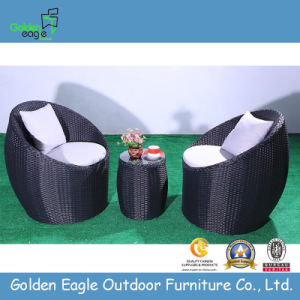 Aluminium 3PCS Rattan Terrace Furniture Set
