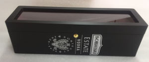 The Transparent Cover of High Grade Wooden Wine Box