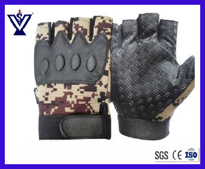 New Style Half Finger Tactical Gloves for Outdoor Sports (SYSG-1892) pictures & photos