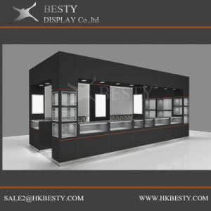 Customized Kiosk Showcase for Jewelry Watch Shop in Shop pictures & photos