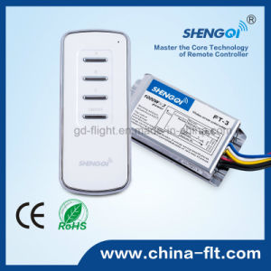 Universal 12V RF Remote Control Wireless Switch with Ce & RoHS for Home or Showroom pictures & photos