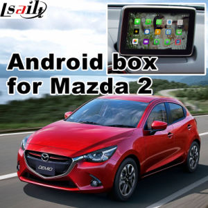 GPS Android Navigation Video Interface for Mazda 2 Demio (MZD connect system) pictures & photos