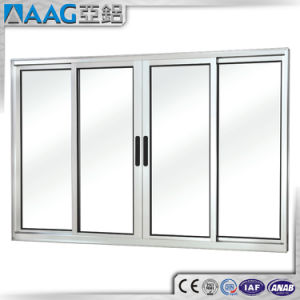 Exterior and Interior Aluminum/Aluminium Glass Sliding Door and Window pictures & photos