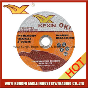 Cutting Disc for Copper and Aluminum pictures & photos