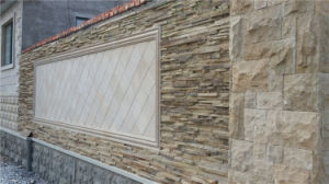 Natural Stone Wall Decoration Cultured Stone Slate Facade Wall Tile pictures & photos