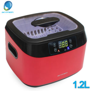 Skymen Jewelry Cleaner Jp-1200b 1.2L Ultrasonic Cleaning Machine with Stainless Steel Tank pictures & photos