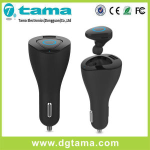 Future-Proof Car Kit Bluetooth Earbud with AC Charger & USB Port pictures & photos