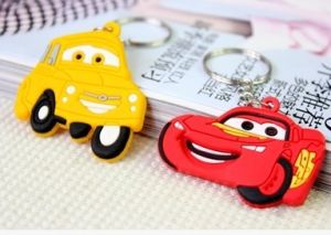 Promotional Gifts Custom Rubber Keychain pictures & photos