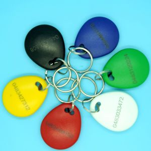 13.56MHz MIFARE Classic 1K Smart RFID key fob keychain pictures & photos