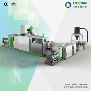 Two Stage Plastic Recycling Machine for Heavy Dirty Printed Film pictures & photos