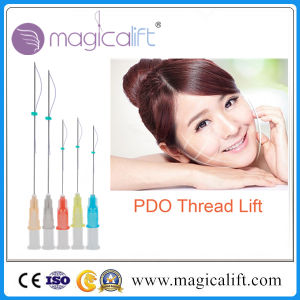 Disposable Absorbable Pdo Polydioxanone Surgical Suture Thread with Needle with Price pictures & photos