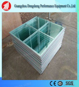 Aluminum Tempered Glass Stage for T-Show Performance pictures & photos