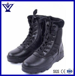 Black New Design Tactical Military Army Outdoor Sports Desert Combat Assault Boots (SYSG-201751) pictures & photos