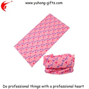 Printing Tube Colored Headscarf for Woman (YH-HS073) pictures & photos