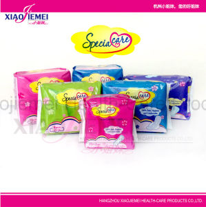 Hot Sale Disposable Women Sanitary Napkin for Overnight and Heavy Flow Time pictures & photos