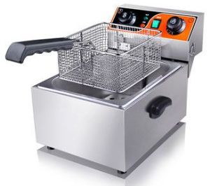 Commercial Counter-Top Electric Deep Fryer for Kitchen pictures & photos