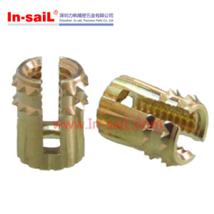 Press-in Thread Brass Insert Nut pictures & photos