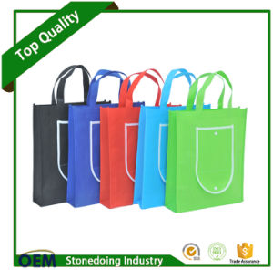 Promotional Facotry Reusable 80GSM Non Woven Foldable Shopping Bag pictures & photos