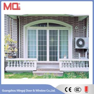 Aluminum Arch Sliding Entry Door pictures & photos
