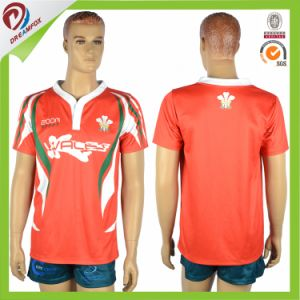 New Zealand Custom Digital Printing Stiped Rugby League Jerseys pictures & photos