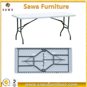 Manufacturing Hot Selling Plastic Folding Tables pictures & photos