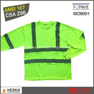ANSI107 Hi Vis Reflective Long Sleeves Shirt pictures & photos