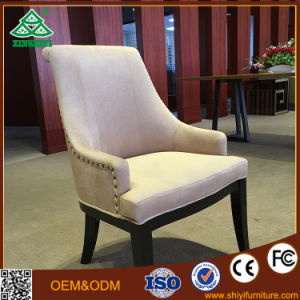 New Classic Old Soft Sofa Woodmensal Leisure Chair Meeting Room Room Are Upholstered Chair pictures & photos