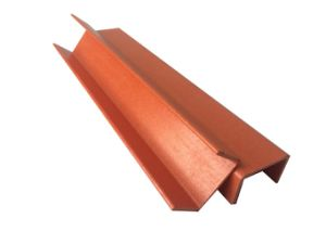 Pultruded Solid High Strength Flexible Channel FRP (GH C001) pictures & photos