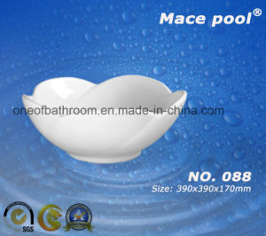 Counter Top Ceramic Hand Wash Art Basin (088) pictures & photos